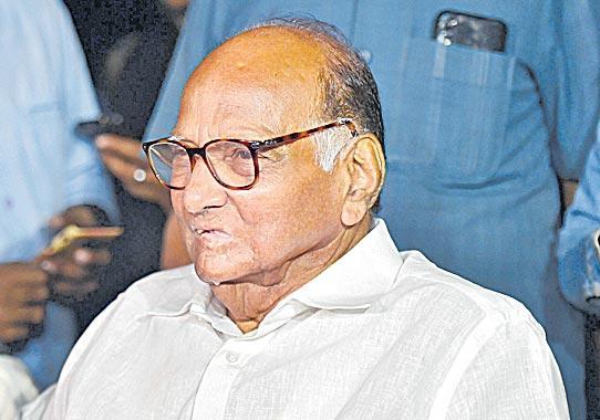 No discussion on Maharashtra government formation says sharad pawar - Sakshi