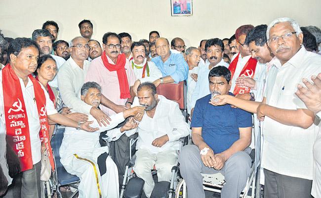 TSRTC Strike : RTC JAC Sadak Bandh Postponed - Sakshi