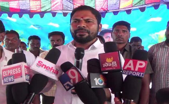 YSRCP MLA Tellam Balaraju Comments On Chandrababu - Sakshi