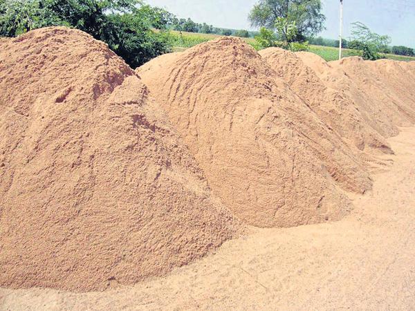 Surveillance on sand irregularities - Sakshi