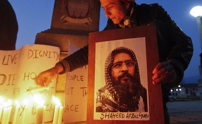 Recounting Afzal Guru Last Moments in Tihar Jail - Sakshi