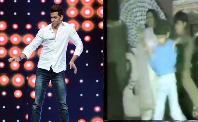 Hrithik Roshan Mother Shares His Childhood Dance In Wedding Video Goes Viral  - Sakshi