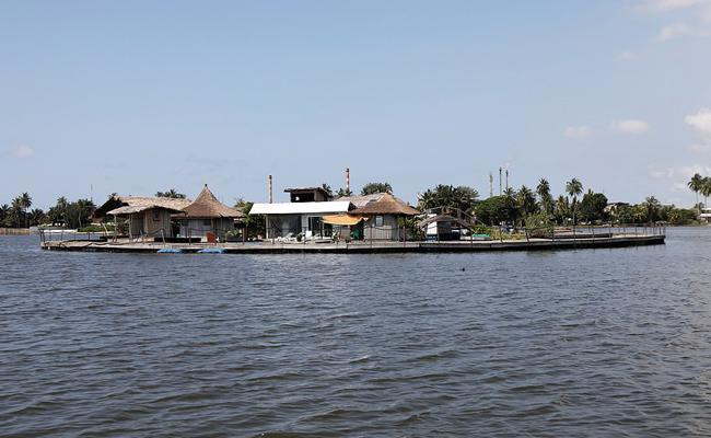 Incredible Floating island At Ivory Coast - Sakshi