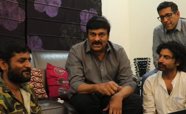 Chiranjeevi Launched George Reddy Telugu Movie Adugu Adugu Song - Sakshi