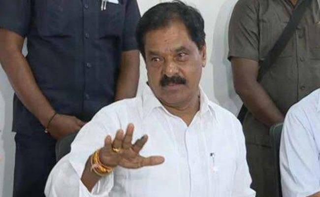 AP Deputy CM Narayana Swamy Slams Chandrababu  - Sakshi