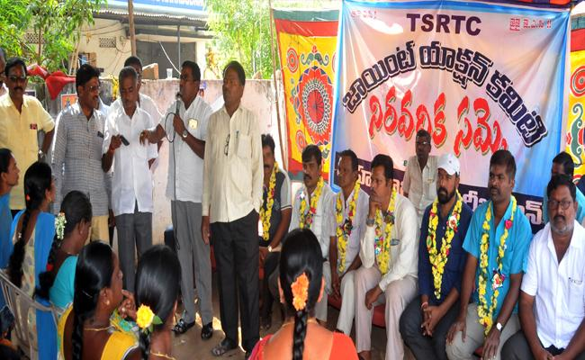 TSRTC Strike Continues For 45 Day In Telangana - Sakshi