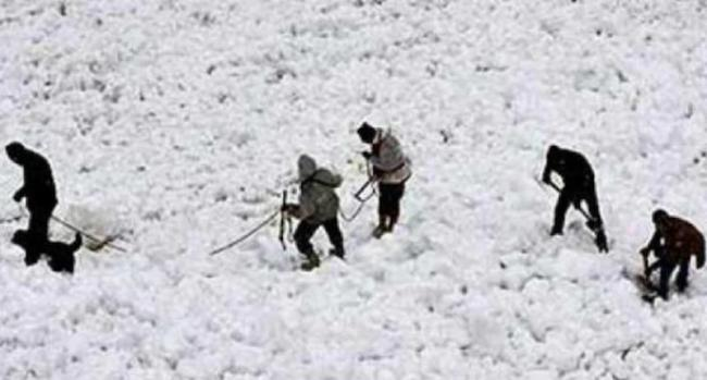 8 jawans stuck under snow after avalanche hits army post in Siachen - Sakshi