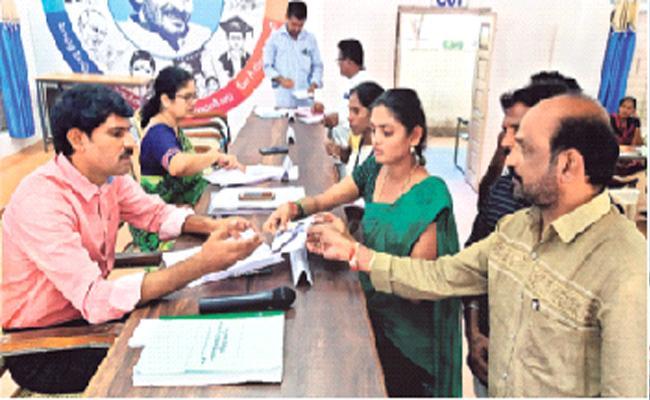 Spandana Program In Chittoor District - Sakshi