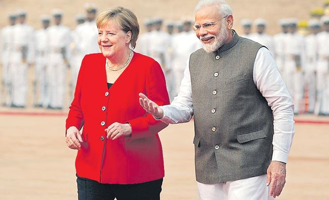 India, Germany will boost cooperation to combat terrorism - Sakshi