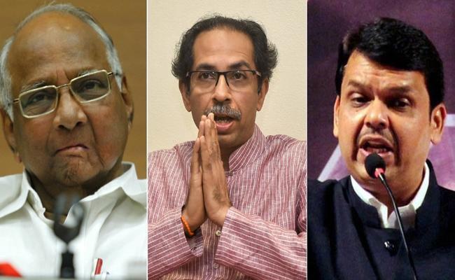 Shiv Sena Attacks BJP On Its Ally Saying That Presidents Rule - Sakshi