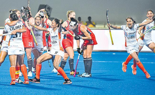 India Men Hockey Team Won Against Russia Men Hockey Team - Sakshi