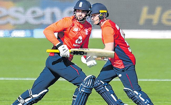 England Won First T20 Against New Zealand - Sakshi