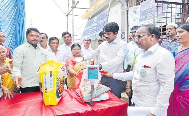 Collector Narayana Reddy Implement Plastic Awareness Program In Mulugu - Sakshi
