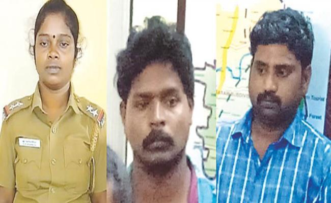 Fake Police Woman Arrest in Tamil nadu - Sakshi