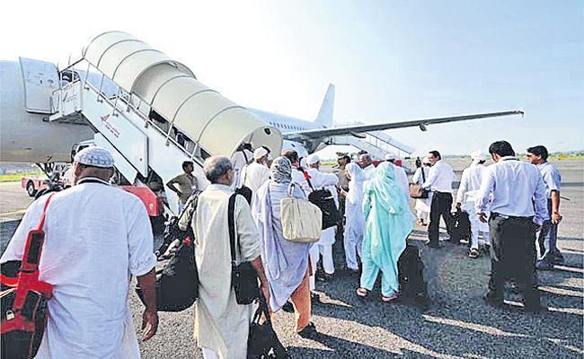 Increase financial support for Hajj and Jerusalem pilgrims - Sakshi