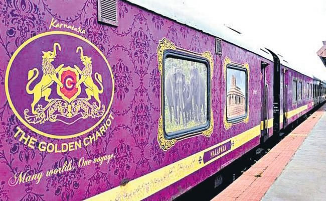 The Golden Chariot Train Start Between Bangalore And Goa - Sakshi