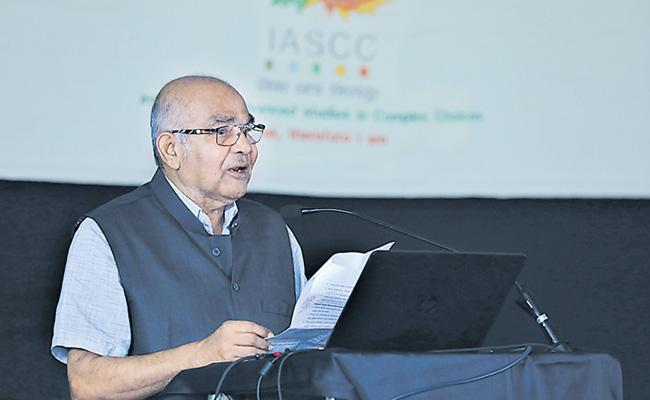 International threat to India Says YV Reddy - Sakshi