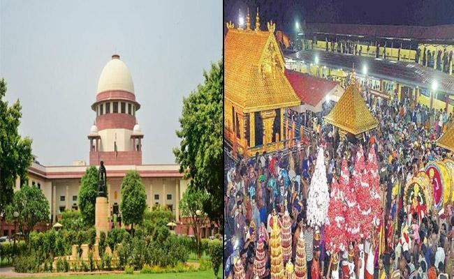 SC Asks Kerala Govt To Frame Exclusive Law For Sabarimala Temple - Sakshi