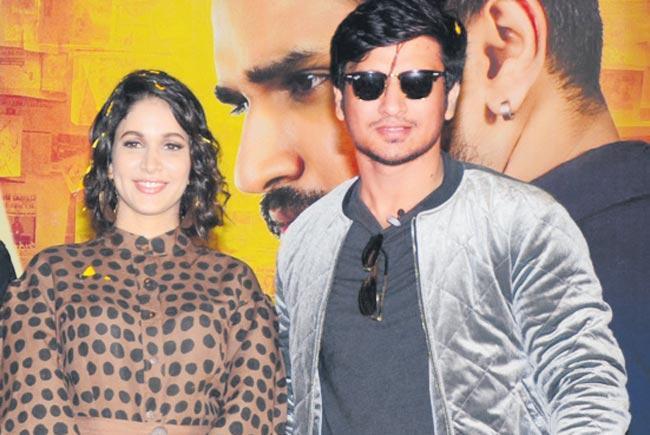Arjun Suravaram Trailer launch - Sakshi