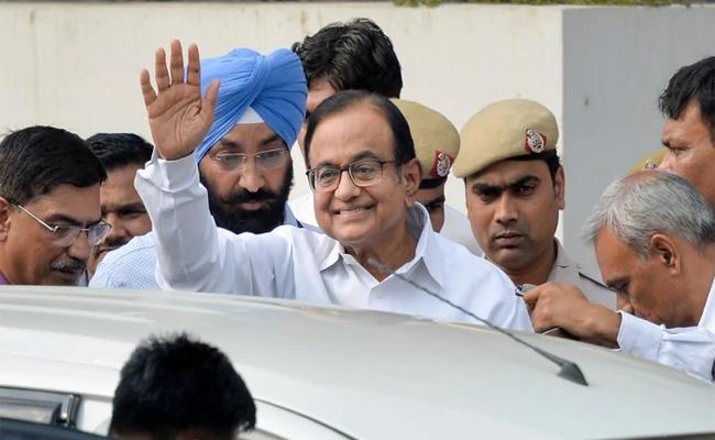 Delhi Court  Allows ED To Interrogate Chidambaram In INX Media case - Sakshi