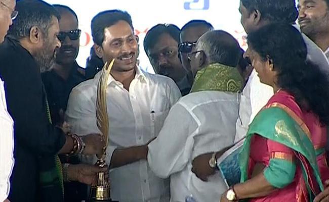 AP CM YS Jagan Honor To Darmadi Sathyam - Sakshi