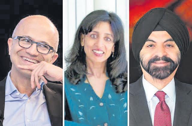 Microsoft CEO Satya Nadella tops Fortune's Businessperson-2019 - Sakshi
