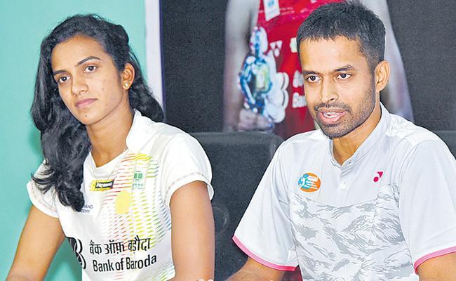 PV Sindhu's Hectic scheduling To Recent Lean Run Gopichand - Sakshi