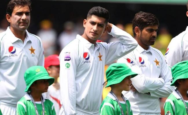 Naseem Becomes Youngest Test Cricketer To Debut In Australia - Sakshi