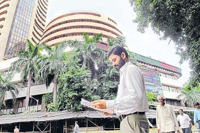 Sensex jumps 182 pts, Nifty just shy of 12000 - Sakshi