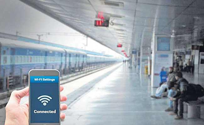South Central Raiway Had Created Record For Providing Free WIFI - Sakshi