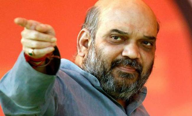 Amit Shah Focuses On Ayodhya In Jharkhand Campaign - Sakshi