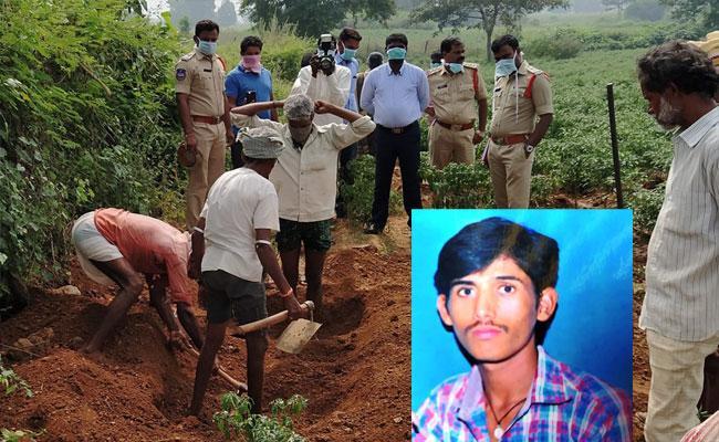 Postmartam For A Buried PG Student Dead body In Khammam - Sakshi