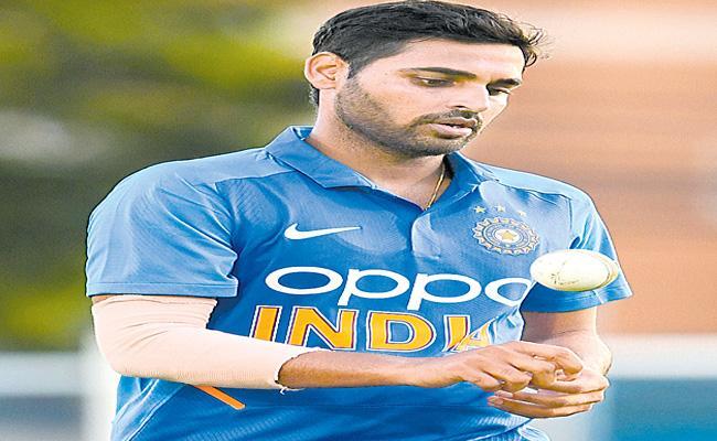 Bhuvneshwar Kumar Selected For West Indies - Sakshi