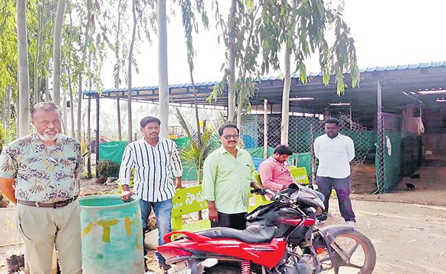 Fight  Between Horticulture, Sericulture Employees And Staff At Nirmal - Sakshi