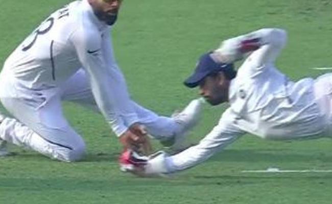 Ind Vs Ban: Saha Joins Elite List Of Indian Wicket Keepers - Sakshi