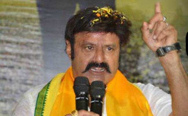 Hindupuram MLA Balakrishna Is Not Available To Constituency People - Sakshi