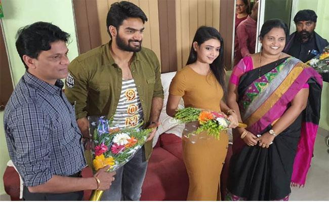 Hero Karthikeya Was Buzzing In Ongole On Saturday - Sakshi
