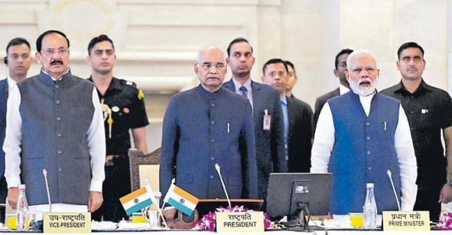 PM Modi addresses 50th Conference of Governors - Sakshi