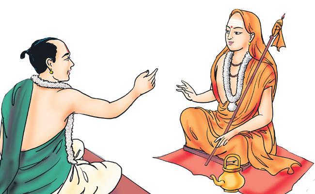 Biography of Adi Shankaracharya On 24/11/2019 - Sakshi