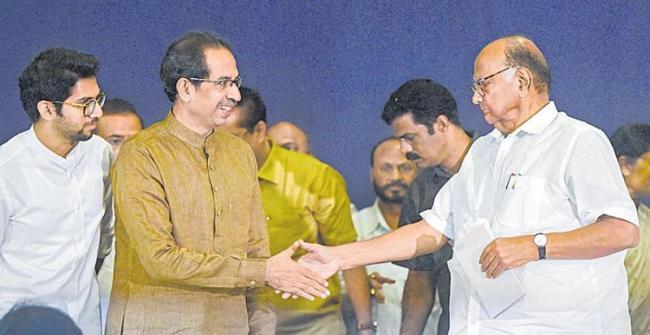 Sharad Pawar fights over BJP-backed MLAs - Sakshi
