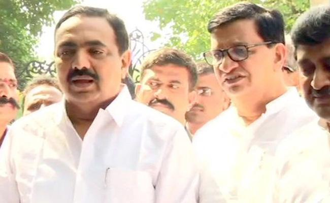Congress-NCP-Shiv Sena alliance claims support of 162 MLAs - Sakshi