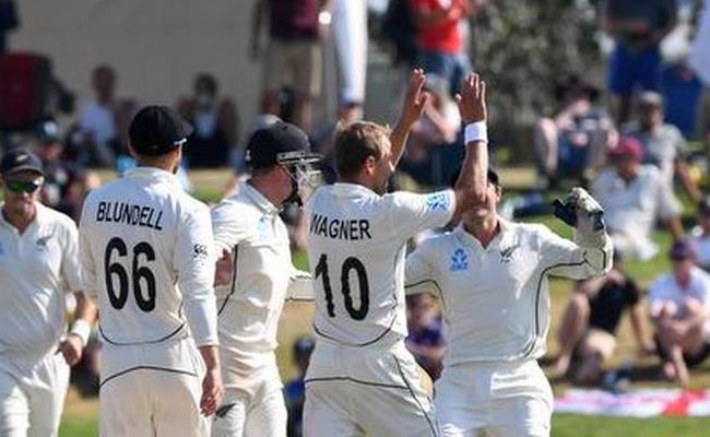 New Zealand beat England by innings and 65 runs - Sakshi