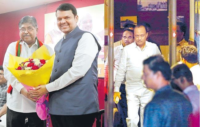 Sharad Pawar my leader, BJP-NCP alliance will provide stable govt - Sakshi
