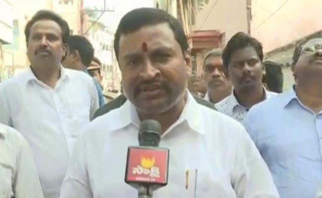 Vijayawada: Vellampalli Srinivas Criticizes Chandrababu Naidu - Sakshi