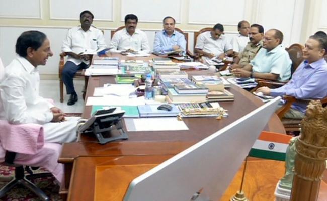 CM KCR Review on TSRTC - Sakshi
