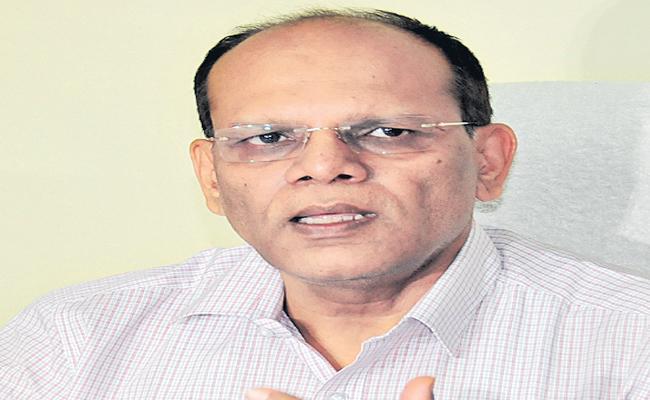 Somesh Kumar is an administrative member of the Krishna and Godavari boards - Sakshi