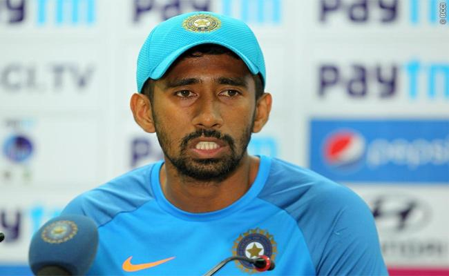 Wriddhiman Saha Comments About Shami In ESPN Interview - Sakshi
