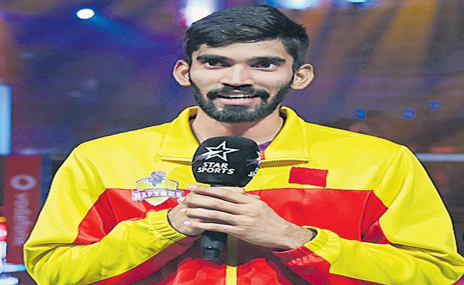 Srikanth Announced About His Participation In PBL - Sakshi