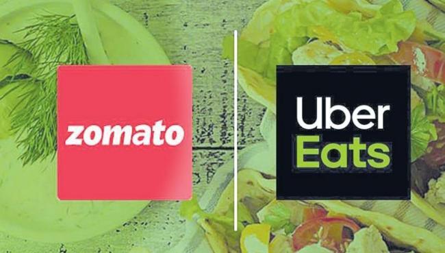Zomato leads race to buy UberEats - Sakshi
