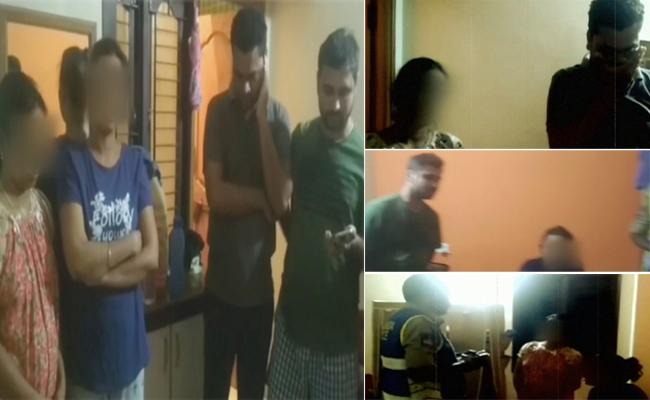 Wife Extra Marital Affair Busted By Husband - Sakshi